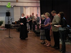 Læsninger ved gudstjenesten i Harmonien