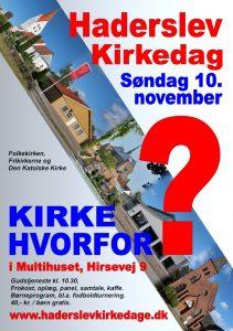 Plakat til Haderslev Kirkedag 2019