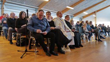 Præsterne umiddelbart før gudstjenesten