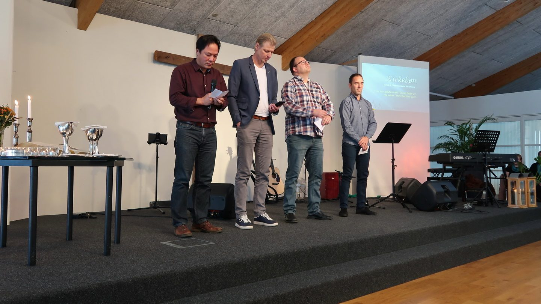 Kirkebønnen blev bedt af repræsentanter fra de forskellige kirker