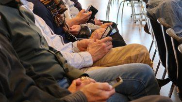 Deltagerne afgav stemmer via Kahoot og mobiltelefoner