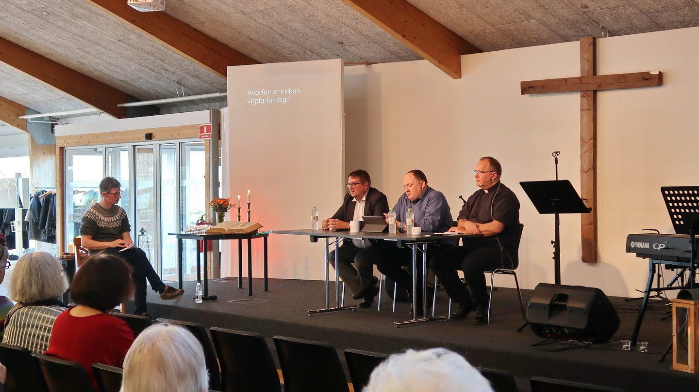 Jakob Damm Knudsen styrede samtalen